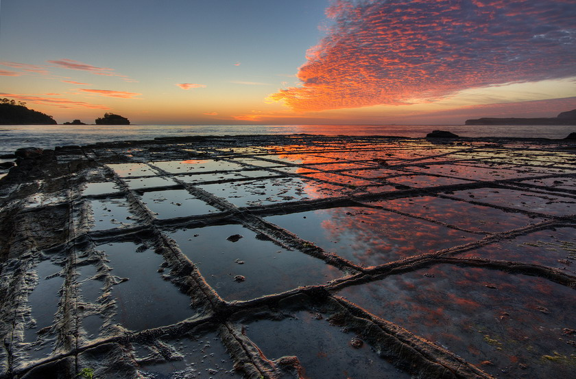Tessellated Pavement, Australia