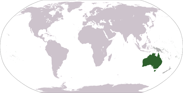 Countries and Landmarks in Australia