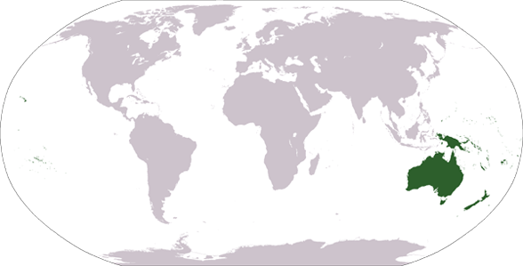 Countries and Landmarks in Other (Oceania)