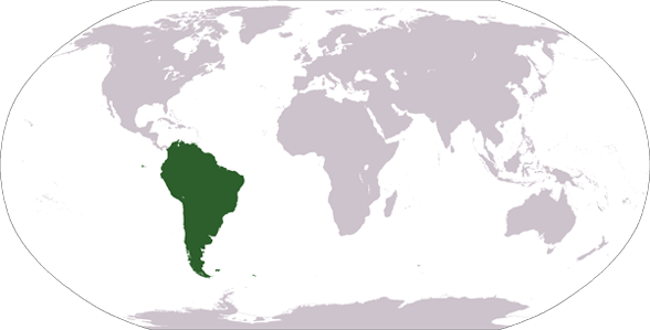 Countries and Landmarks in South America