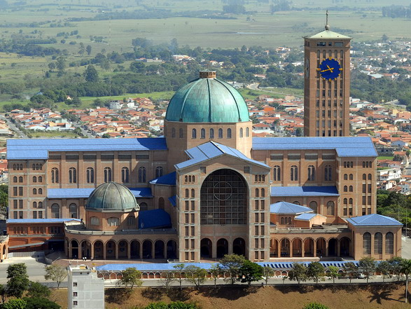 Landmark Basilica of the National Shrine of Our Lady of Aparecida