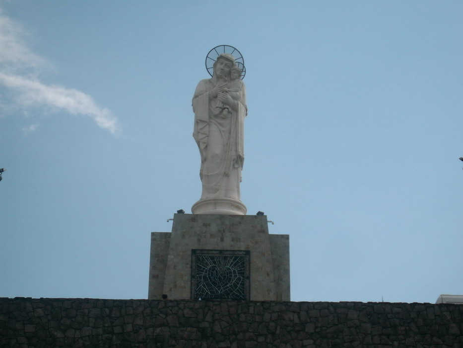 Landmark The Holy Mother of God Monument