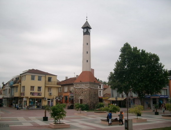 Landmark Clock Tower in Pazardzhik