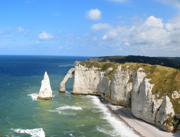 Landmark Étretat Cliffs