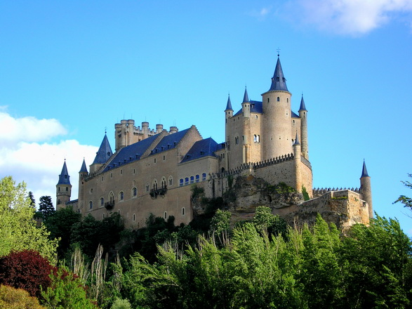 Landmark Alcázar of Segovia