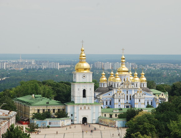 Landmark St. Michael Golden-Domed Monastery