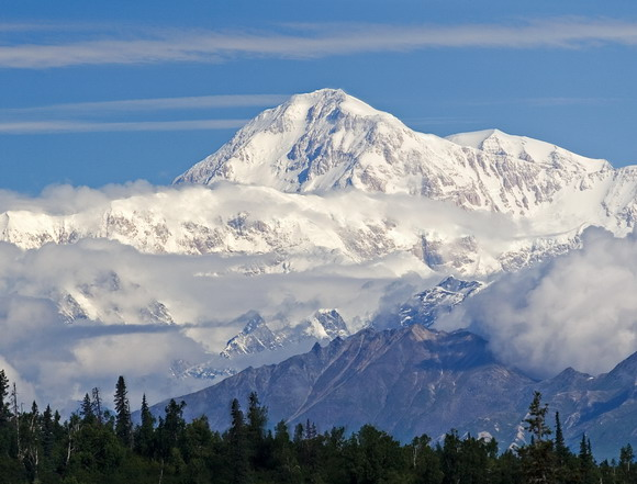 Landmark Mount McKinley (6194 m)