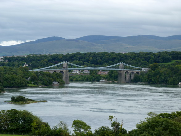 Landmark Menai Suspension Bridge